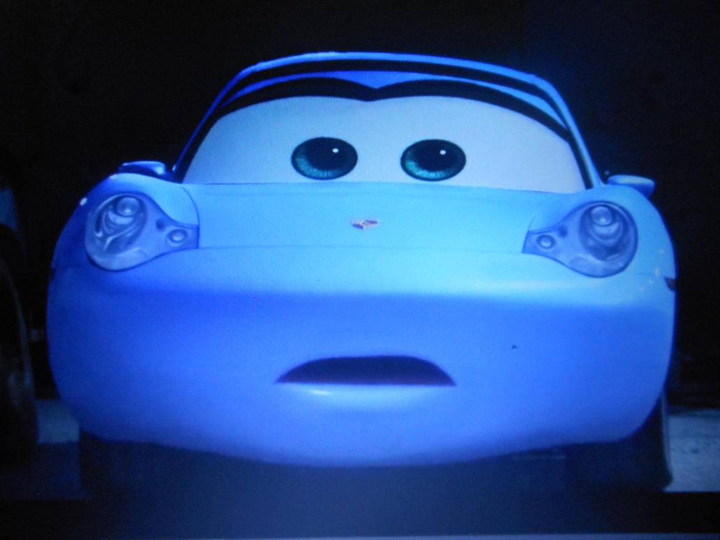 Cars 3 Sally watches Lightning Mcqueen crash (2) by sgtjack2016