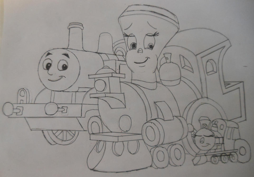 Thomas, Tillie and Cruz by sgtjack2016
