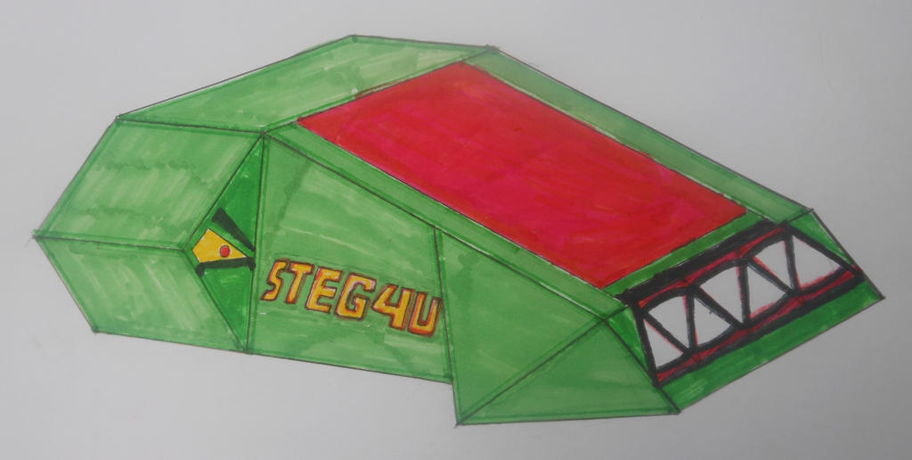 Robot Wars custom series: Steg4U by sgtjack2016