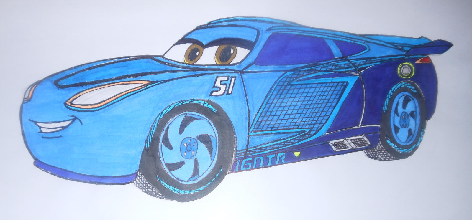 Cars 3: custom Cruz Ramirez(2.0) by sgtjack2016