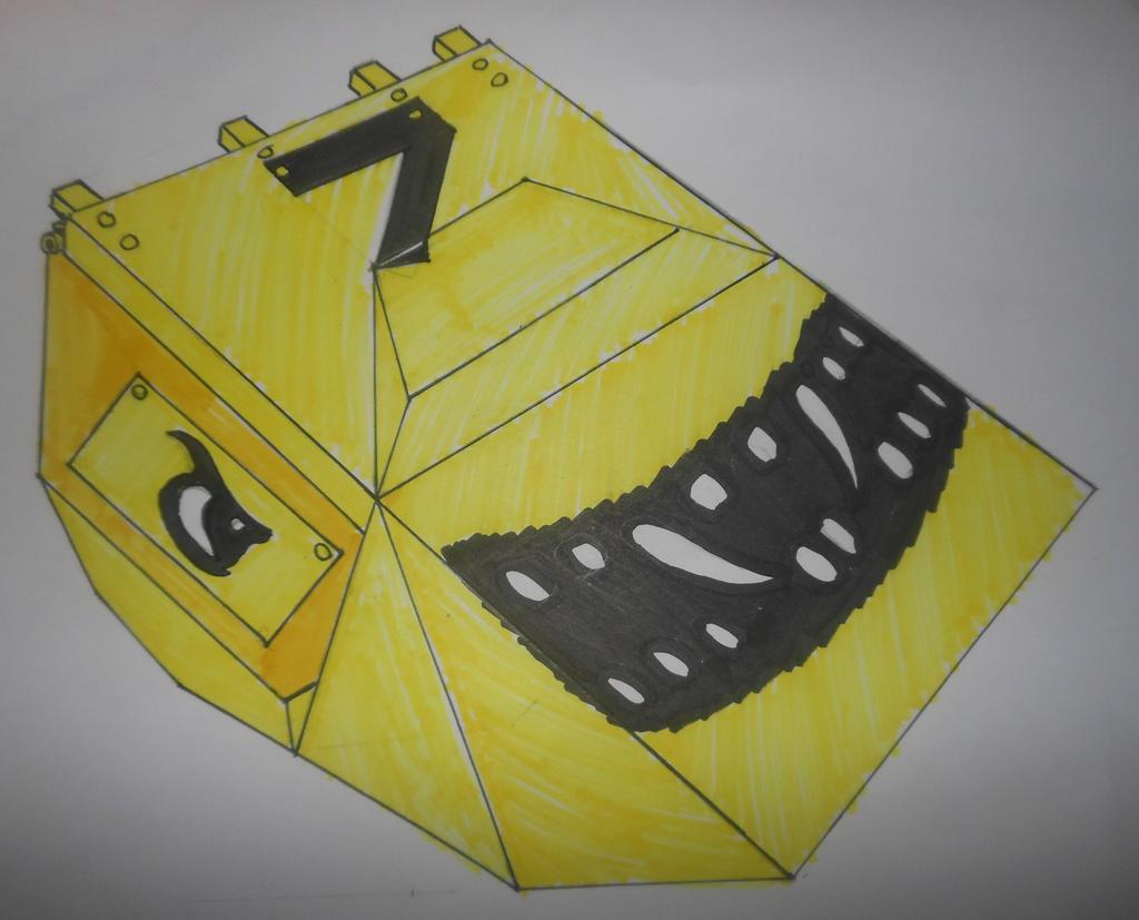 Robot Wars custom series: Iron Awe 7 by sgtjack2016
