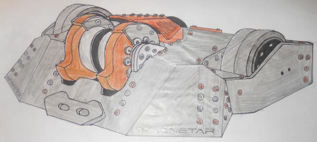 Robot Wars Series 10 Magnetar by sgtjack2016