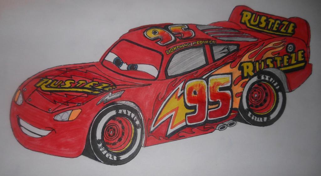 Cars 3: custom Lightning McQueen (3.0) by sgtjack2016