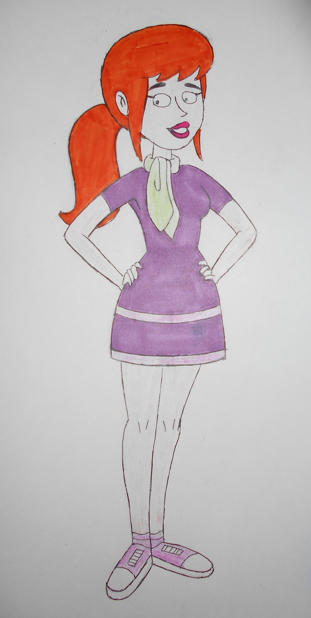 Be Cool, Scooby Doo! Daphne with ponytail by sgtjack2016