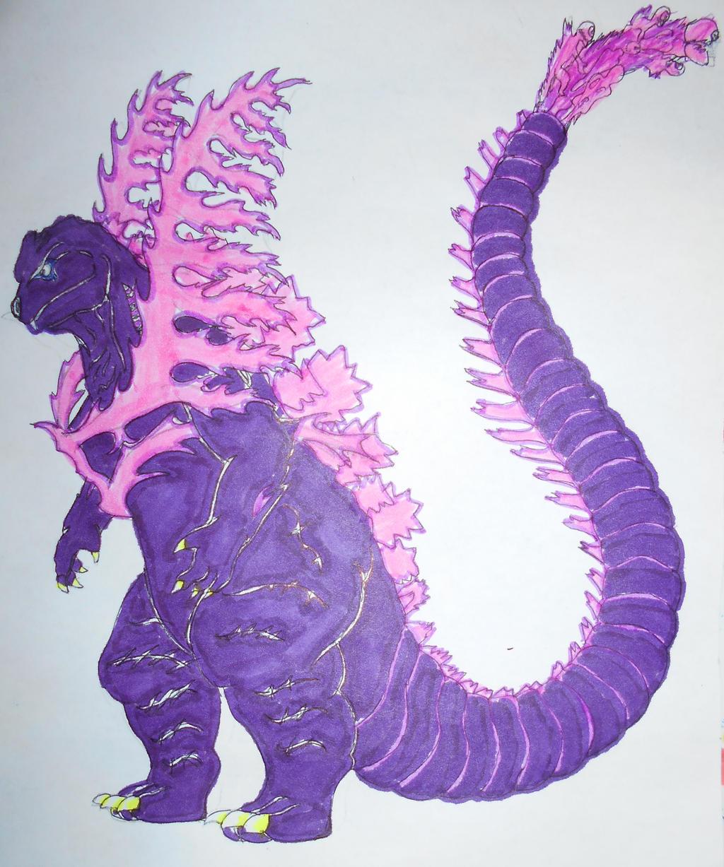 Shin-Godzilla possible 5th form by sgtjack2016