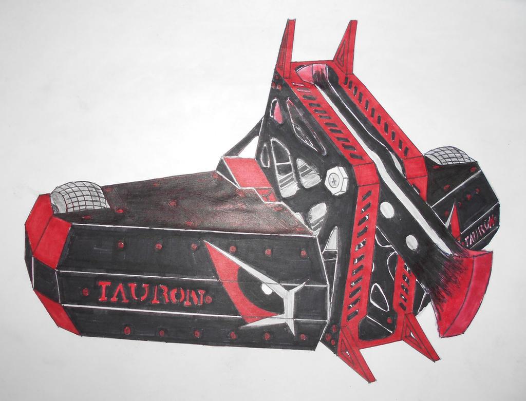 Robot Wars custom series: Tauron MK3 by sgtjack2016