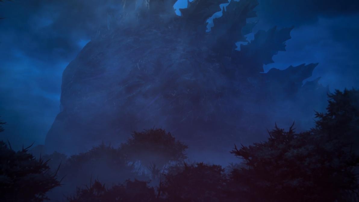 Godzilla Earth sleeping by sgtjack2016