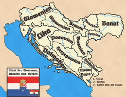 State of Slovenes, Croats and Serbs by FictionalMaps
