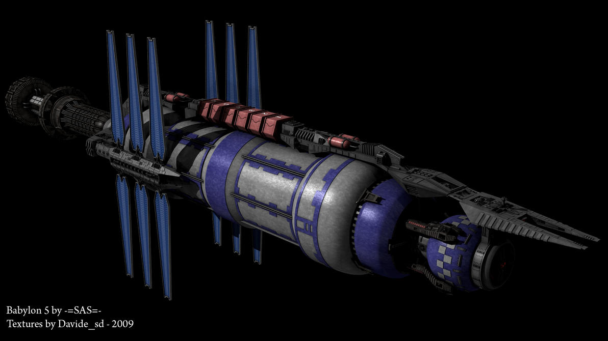 Babylon 5 Station Png Babylon 5 wip by Davide-sd