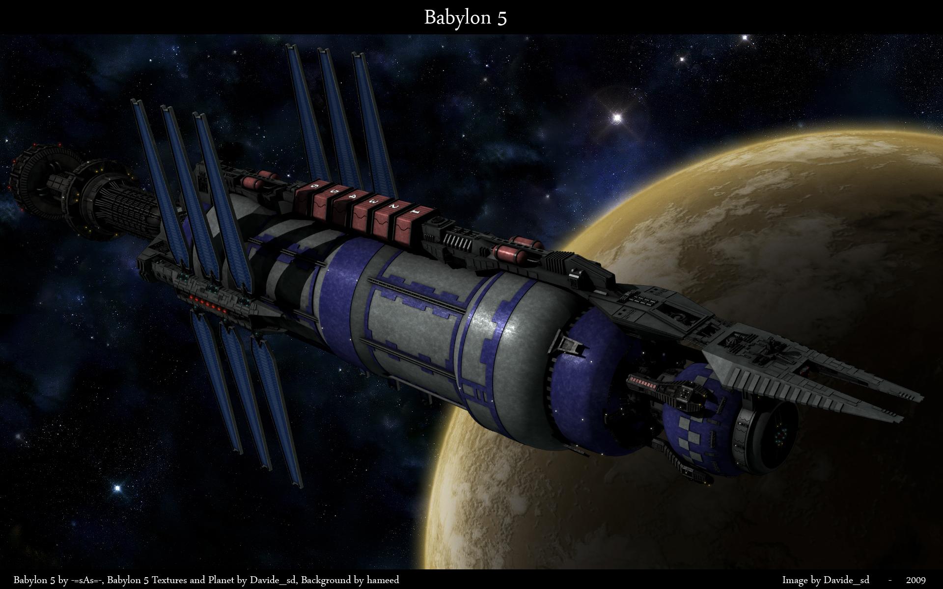 Babylon 5 by Davide-sd