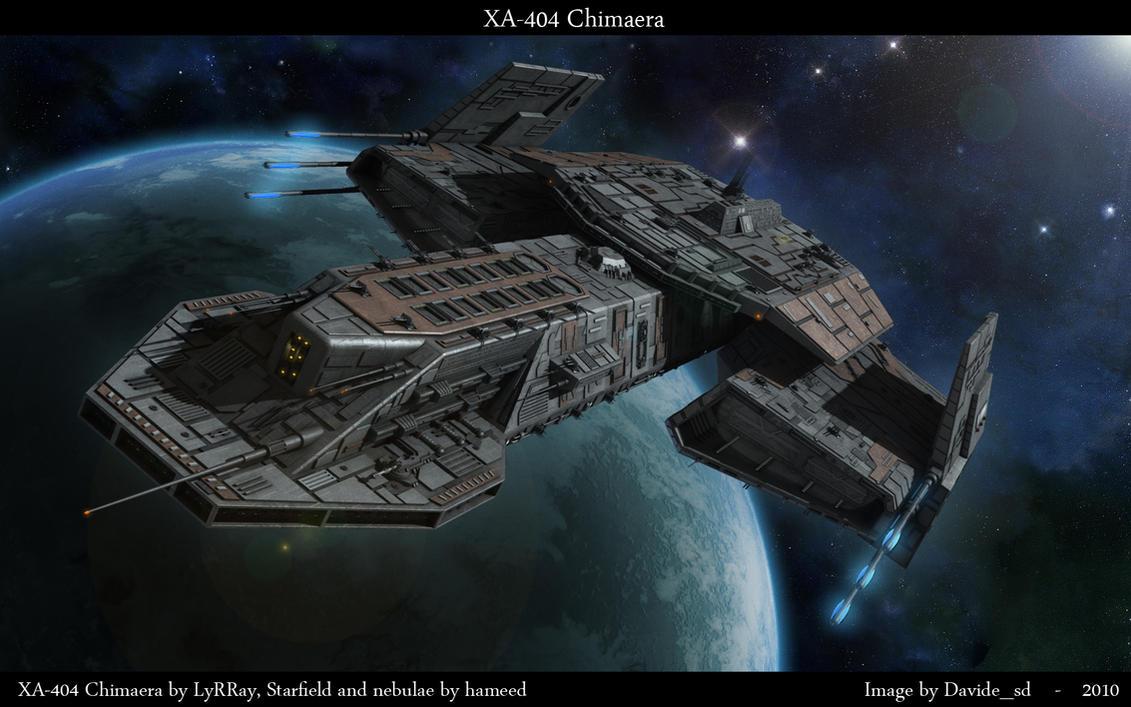 XA-404 Chimaera by Davide-sd