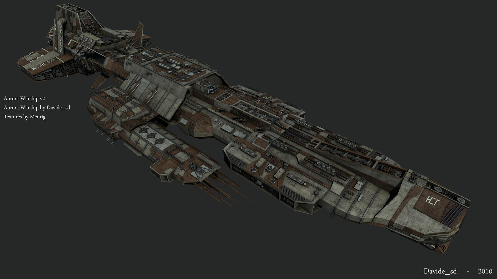 Ancient Warship v2 - 3 by Davide-sd