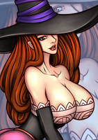 NGT FANART Sorceress-DragonsCrown by ngtvisualstudio