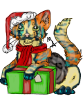 Christmas Cat Noma by DaggarHeart
