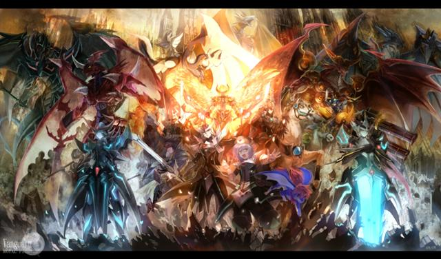full cardfight vanguard!!!! by palalapunch