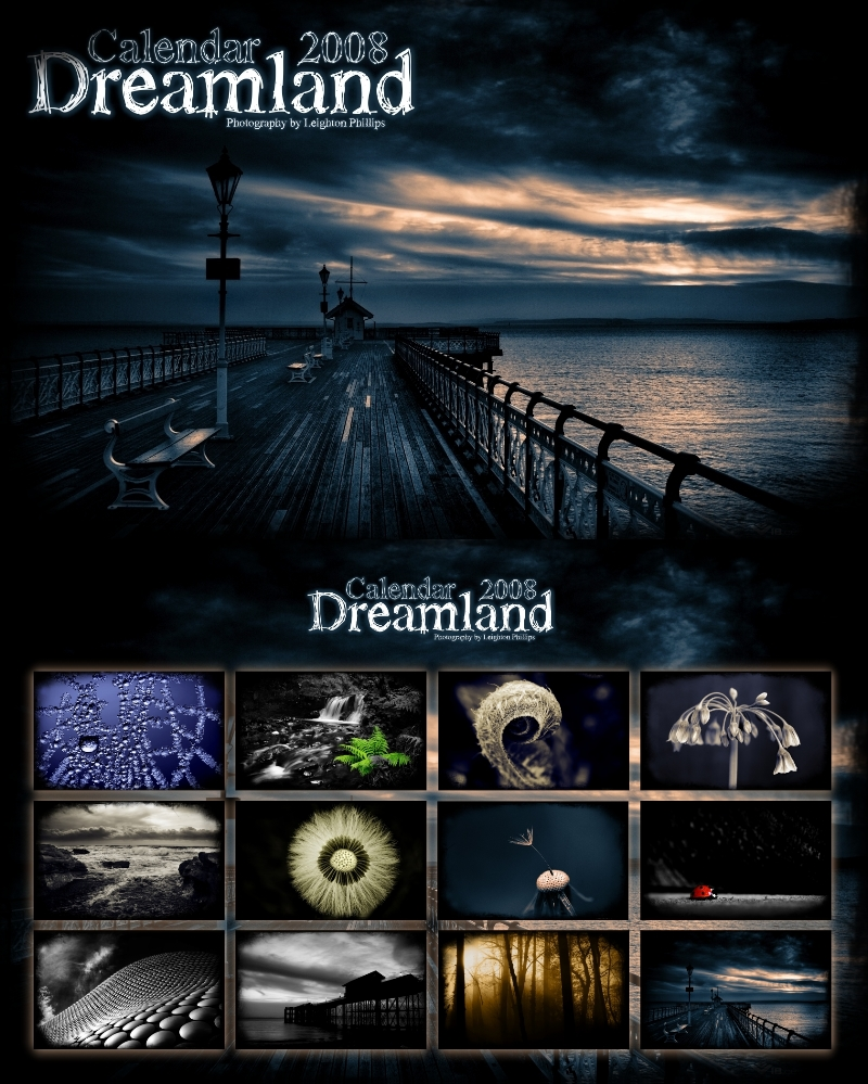 Dreamland Calendar 2008 by l8