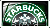 Dark Starbucks Stamp