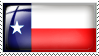 Texas State Flag Stamp by l8