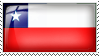 Chile Flag Stamp by l8