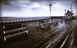 Pouring On The Pier 1920x120 by l8