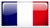 France Stamp by l8