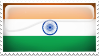 India Stamp by l8