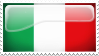 Italy Stamp by l8