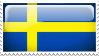 Sweden Stamp by l8