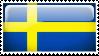 Sweden Stamp by l8