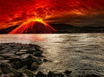 Premade BG Volcano