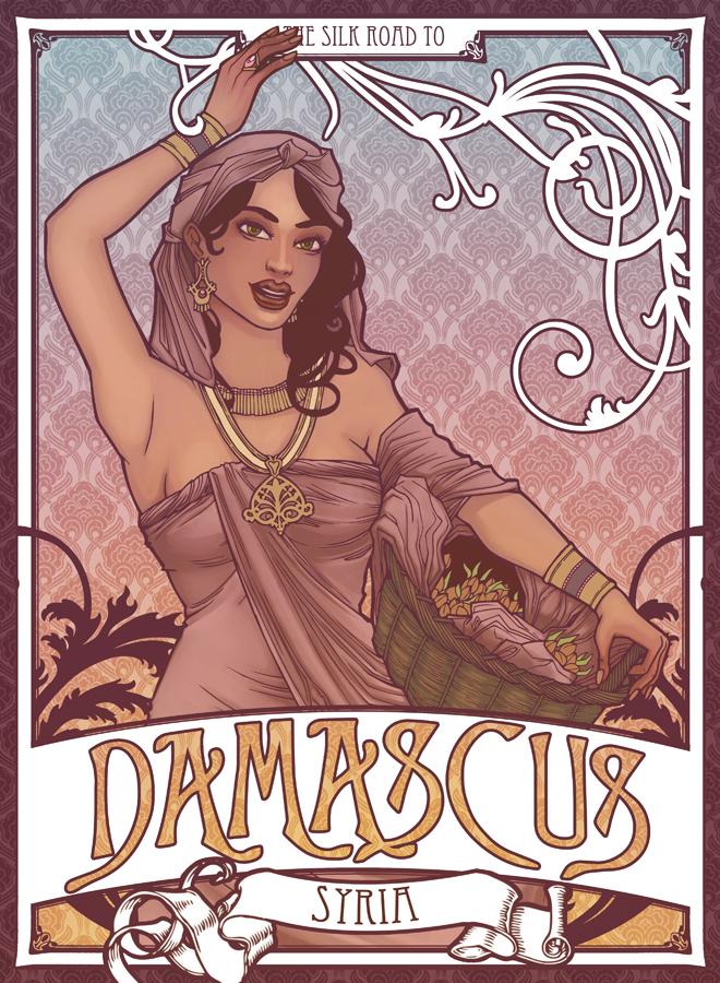 Silk Road: Damascus by sanya