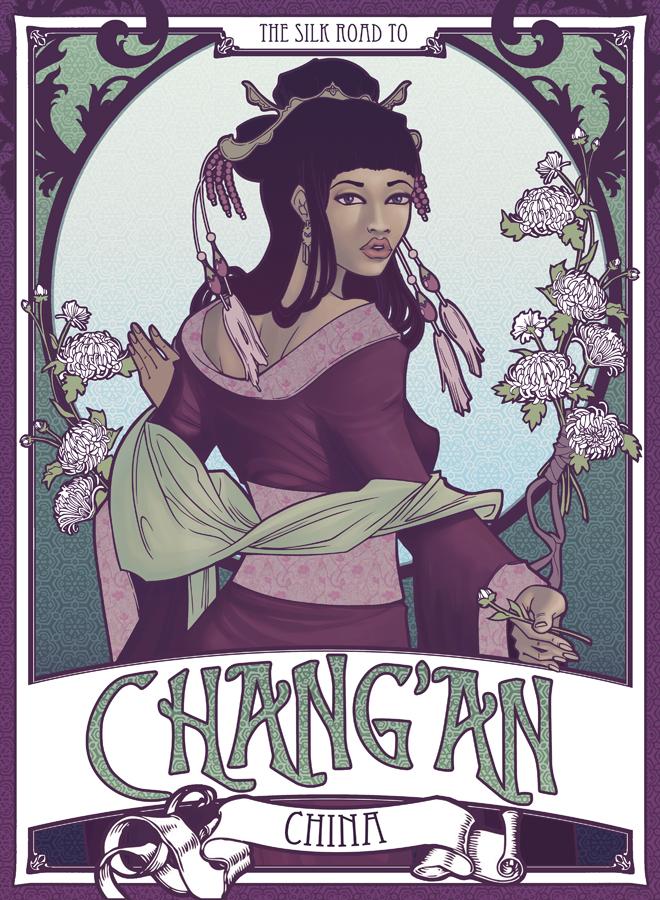 Silk Road: Chang'An by sanya