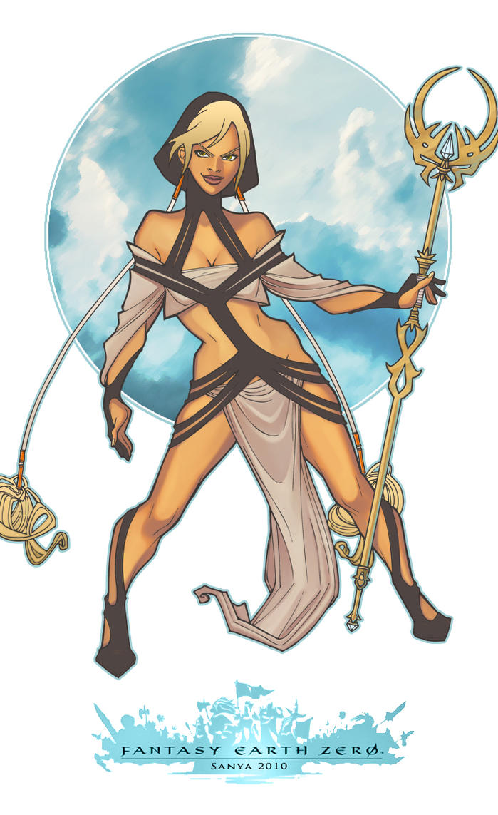 Fantasy Earth Zero: Sorceress by sanya