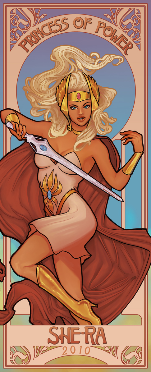 She-Ra, Princess of Power by sanya