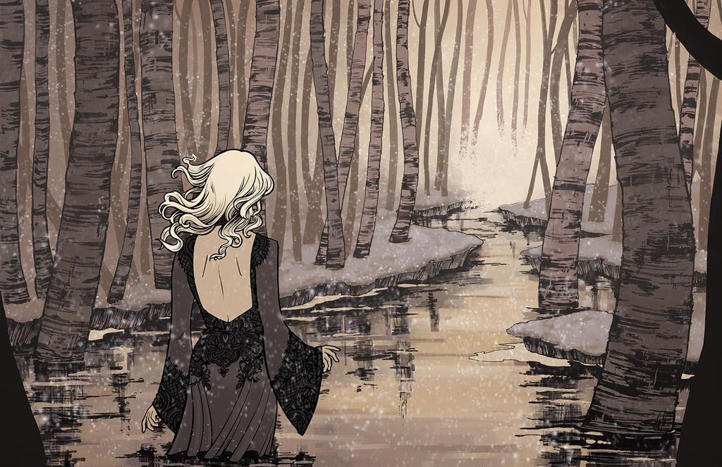The Deep Spring by sanya