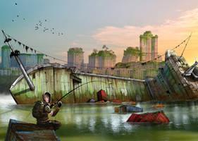 Fishing by Pino44io