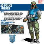AD Police Officer|Bubblegum Crisis