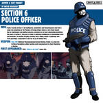 Section 6 Police Officer|Ghost in the Shell