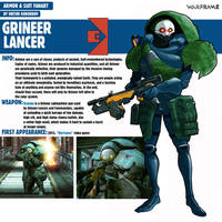 Grineer Lancer|Warframe by Pino44io