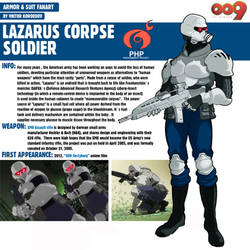 Lazarus Corpse Soldier 009 Re-cyborg by Pino44io