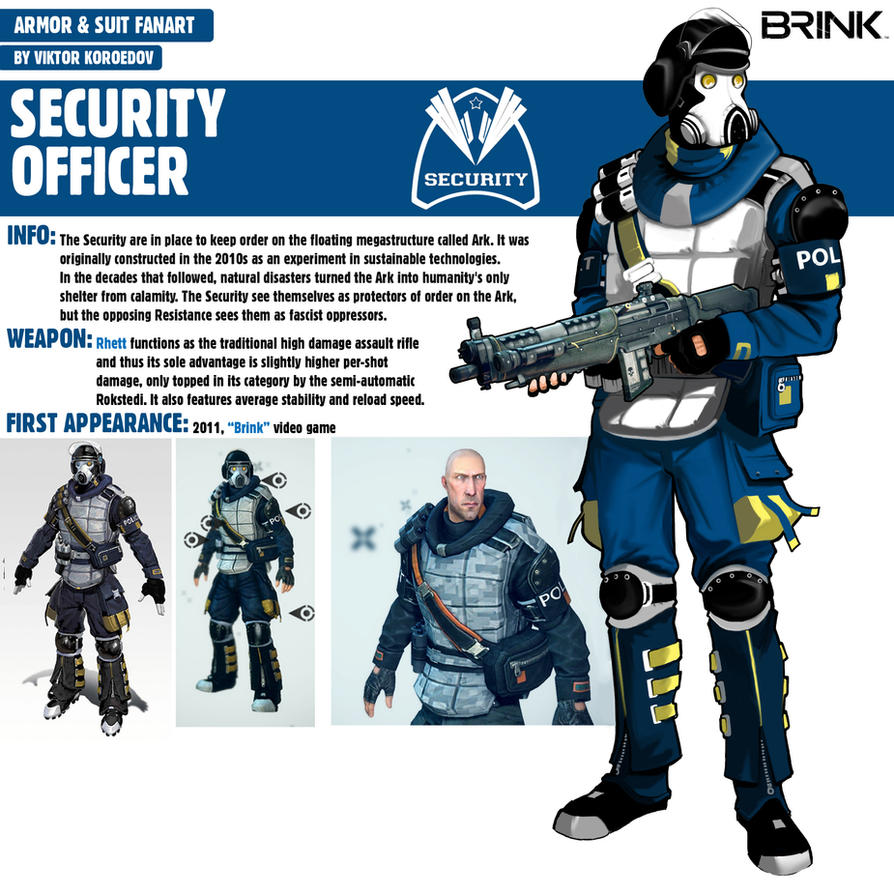 security officerbrink by pino44io on deviantart