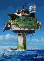 The Shop. Waterworld version by Pino44io