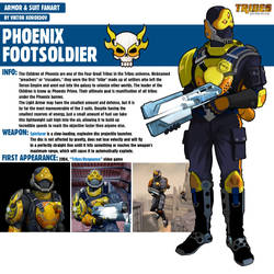 Phoenix Footsoldier |Tribes Vengeance
