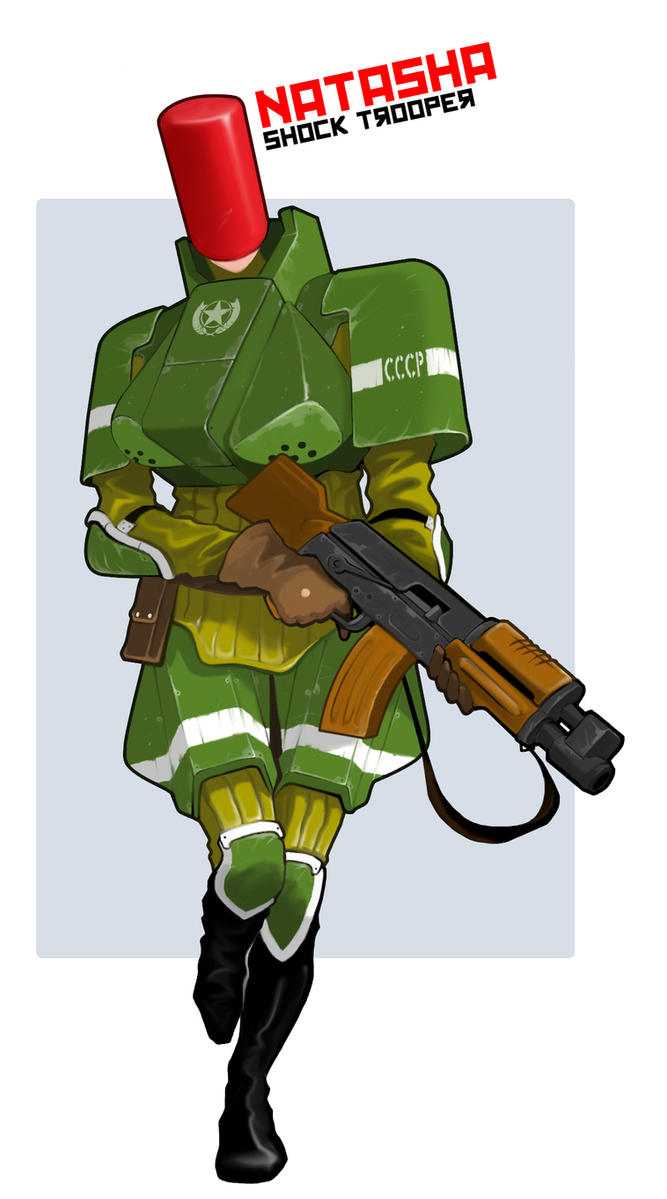 Soviet Shock Trooper|Coldworld by Pino44io