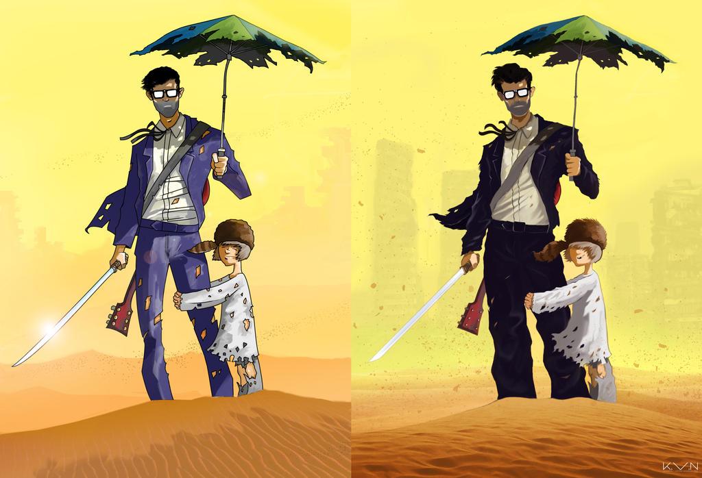 6-String Samurai and The Kid Updated by Pino44io