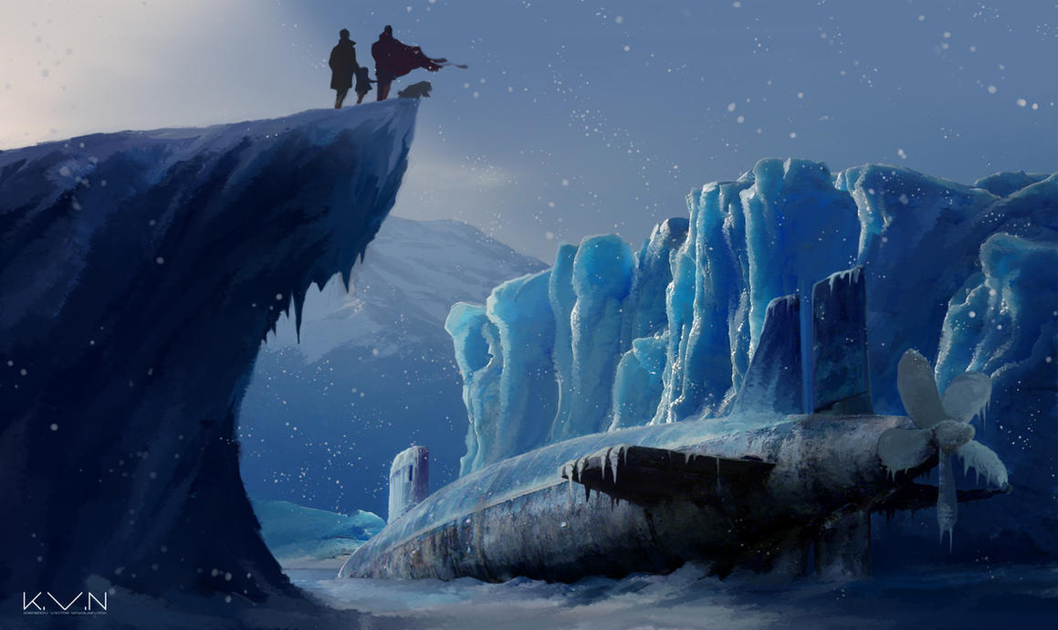 Les Mondes Imaginaires Ice_monster_by_pino44io-d9fgue4