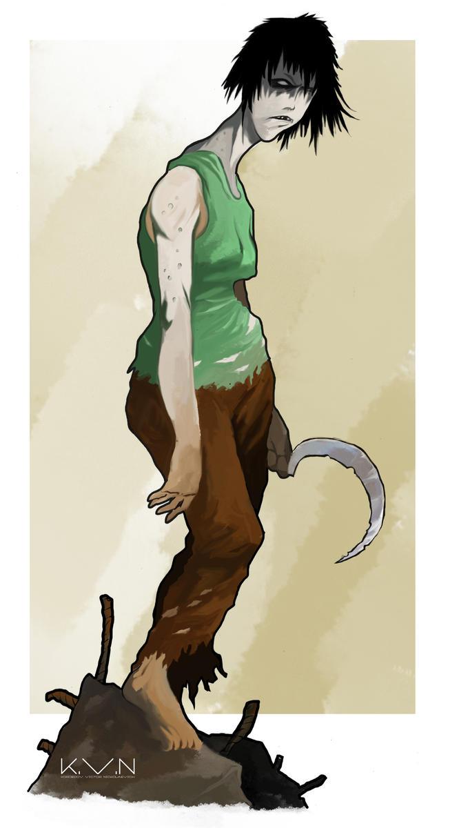 Farmer mutant by Pino44io