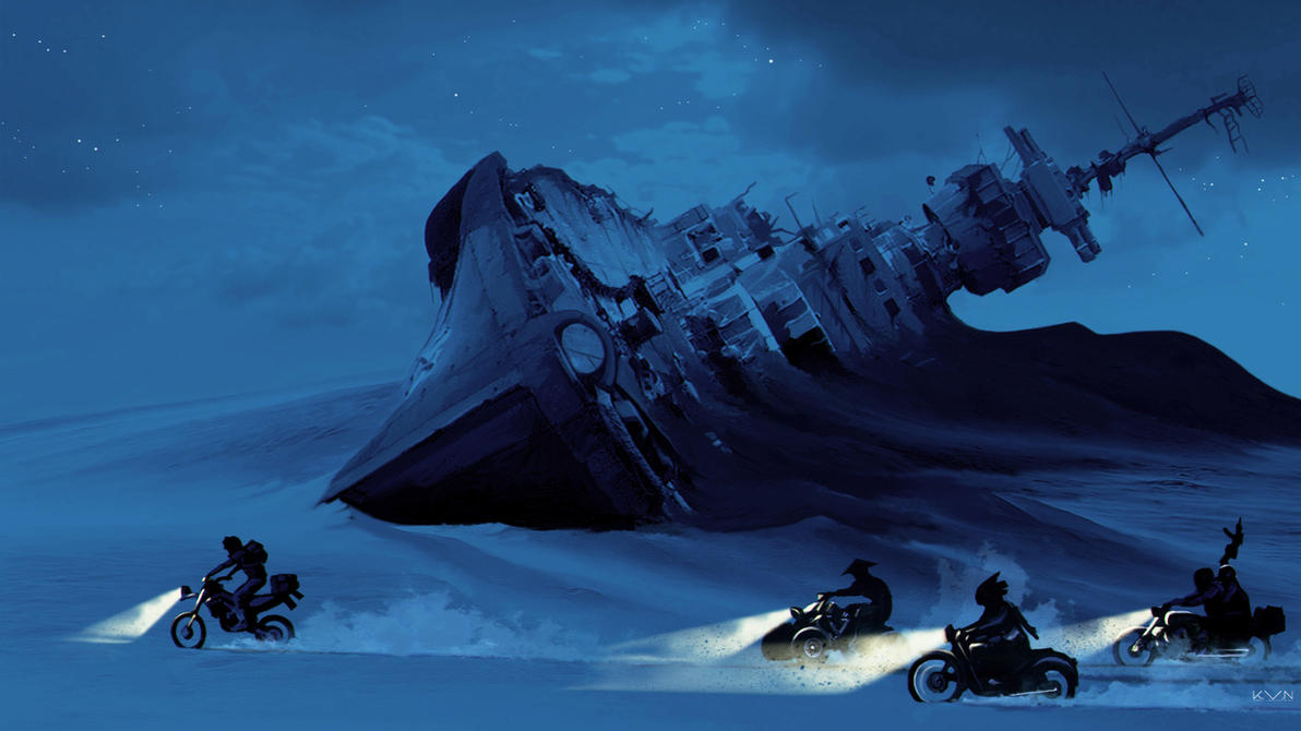 Les Mondes Imaginaires The_chase_by_pino44io-dahm4ug