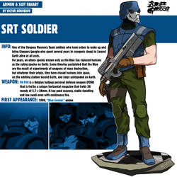 SRT Soldier|Blue Gender