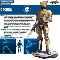 PESHKA | STRIDER by Pino44io